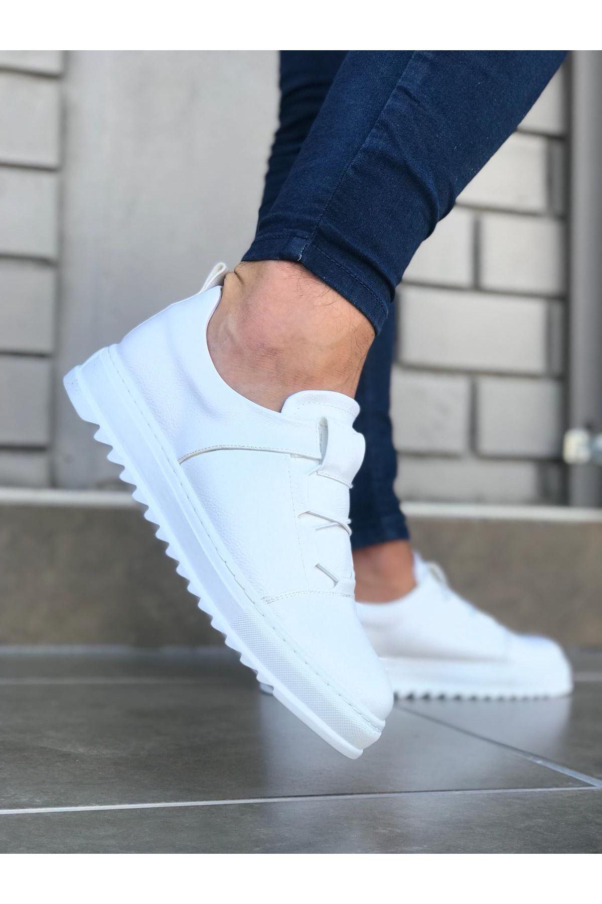 Wagoon WG036 Beyaz Erkek Casual Ayakkabı