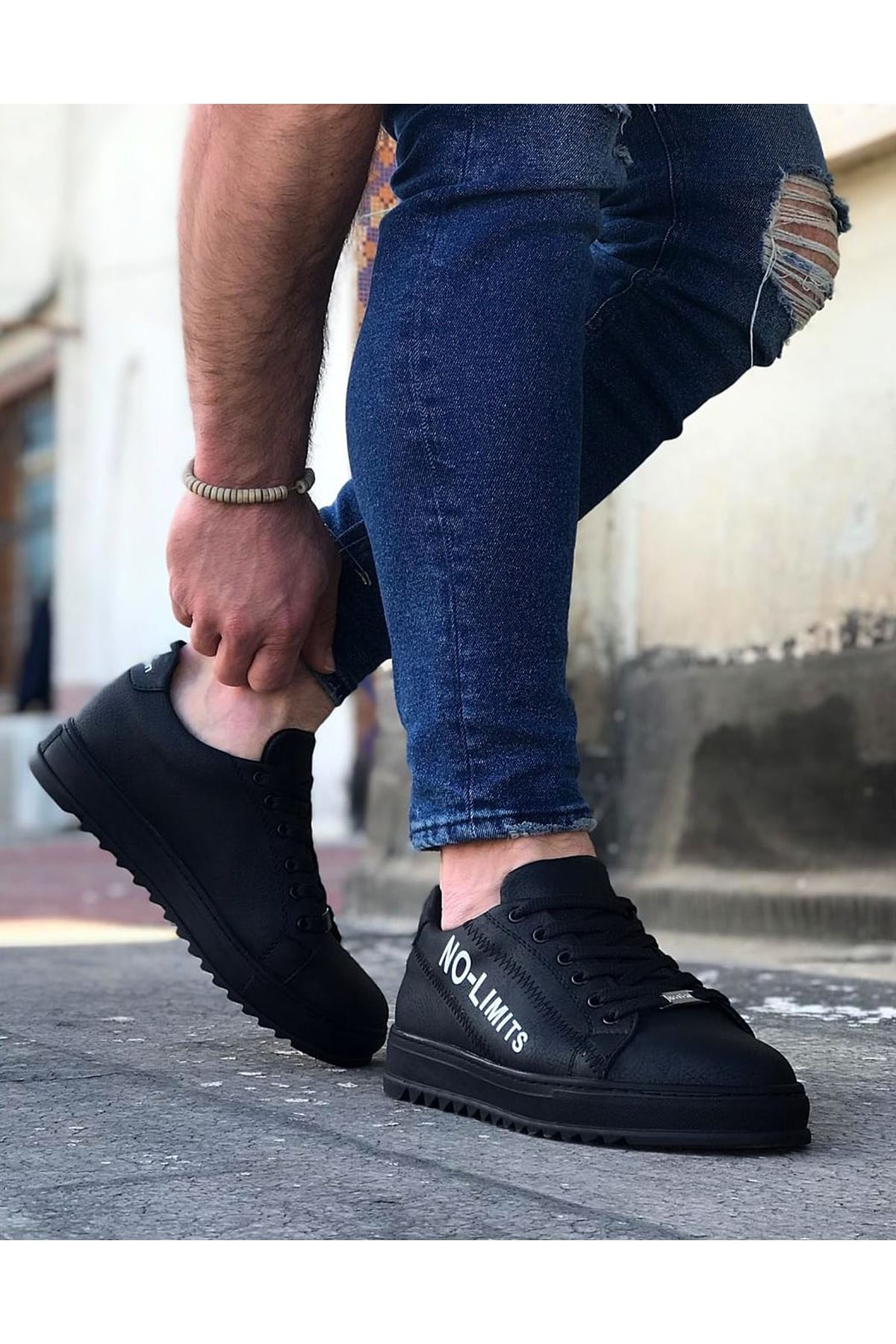 Wagoon WG027 Kömür No Limit Erkek Casual Ayakkabı