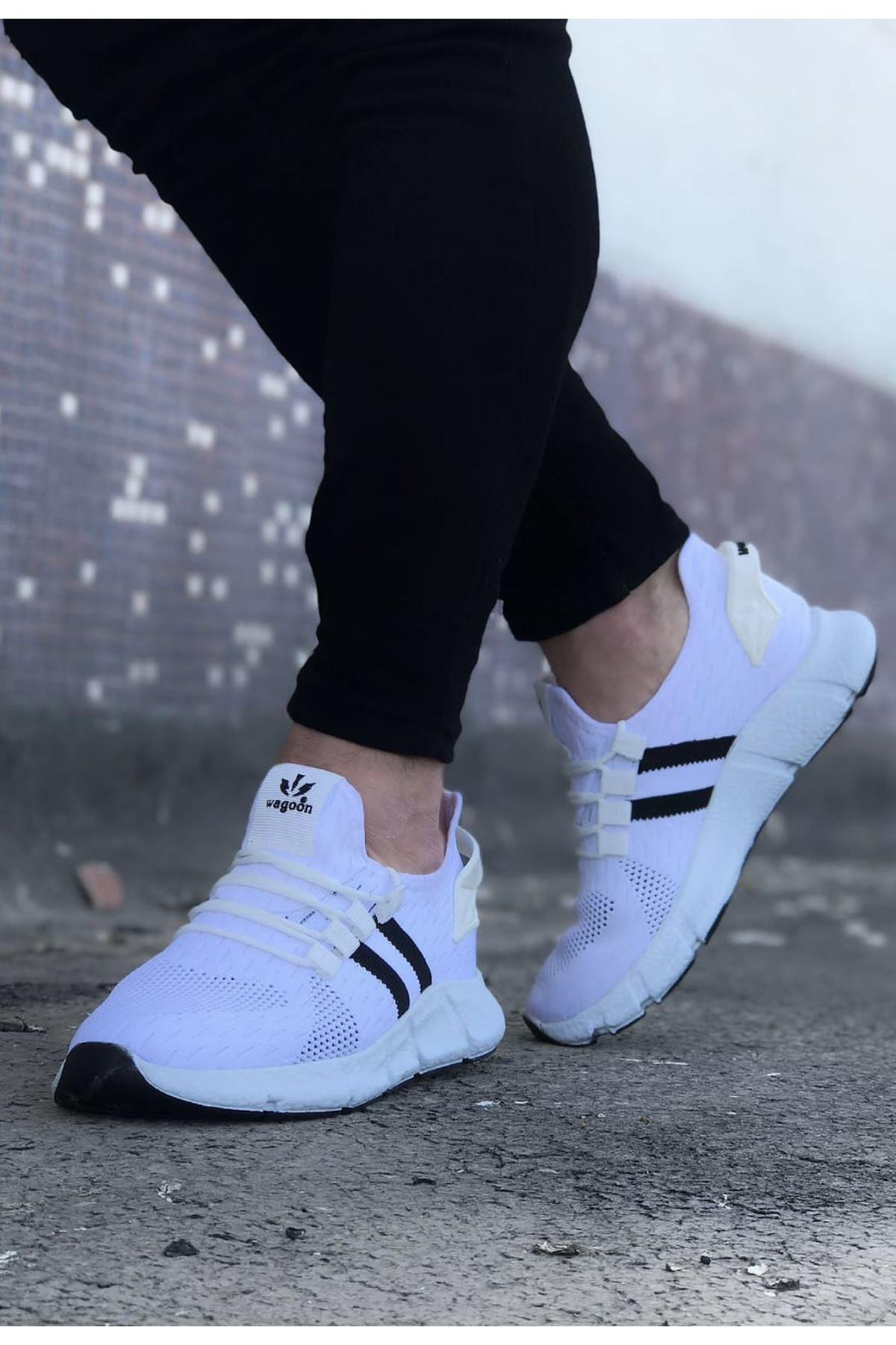 Wagoon WG102 Beyaz Erkek Spor Ayakkaı