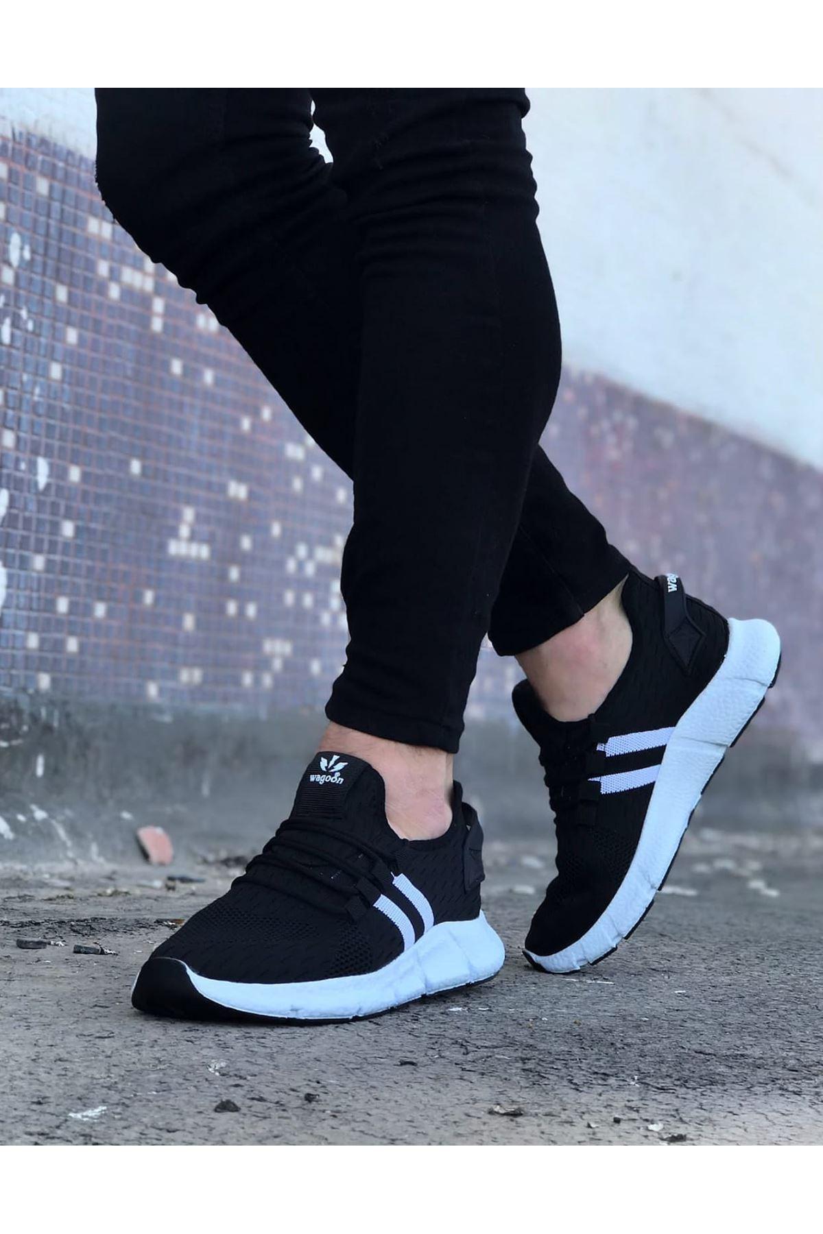 Wagoon WG102 Siyah Erkek Spor Ayakkabı