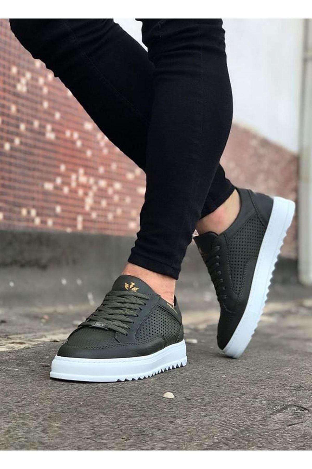 Wagoon WG505 Haki Erkek Günlük Ayakkabı