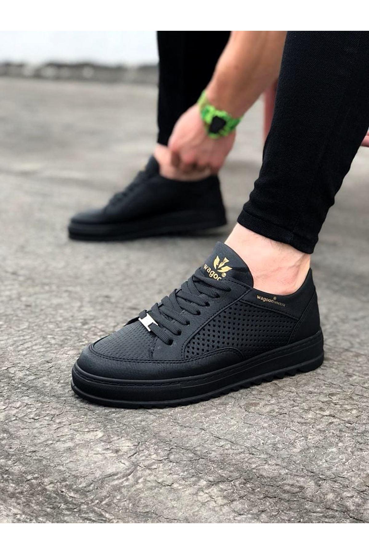 Wagoon WG505 Kömür Erkek Günlük Ayakkabı