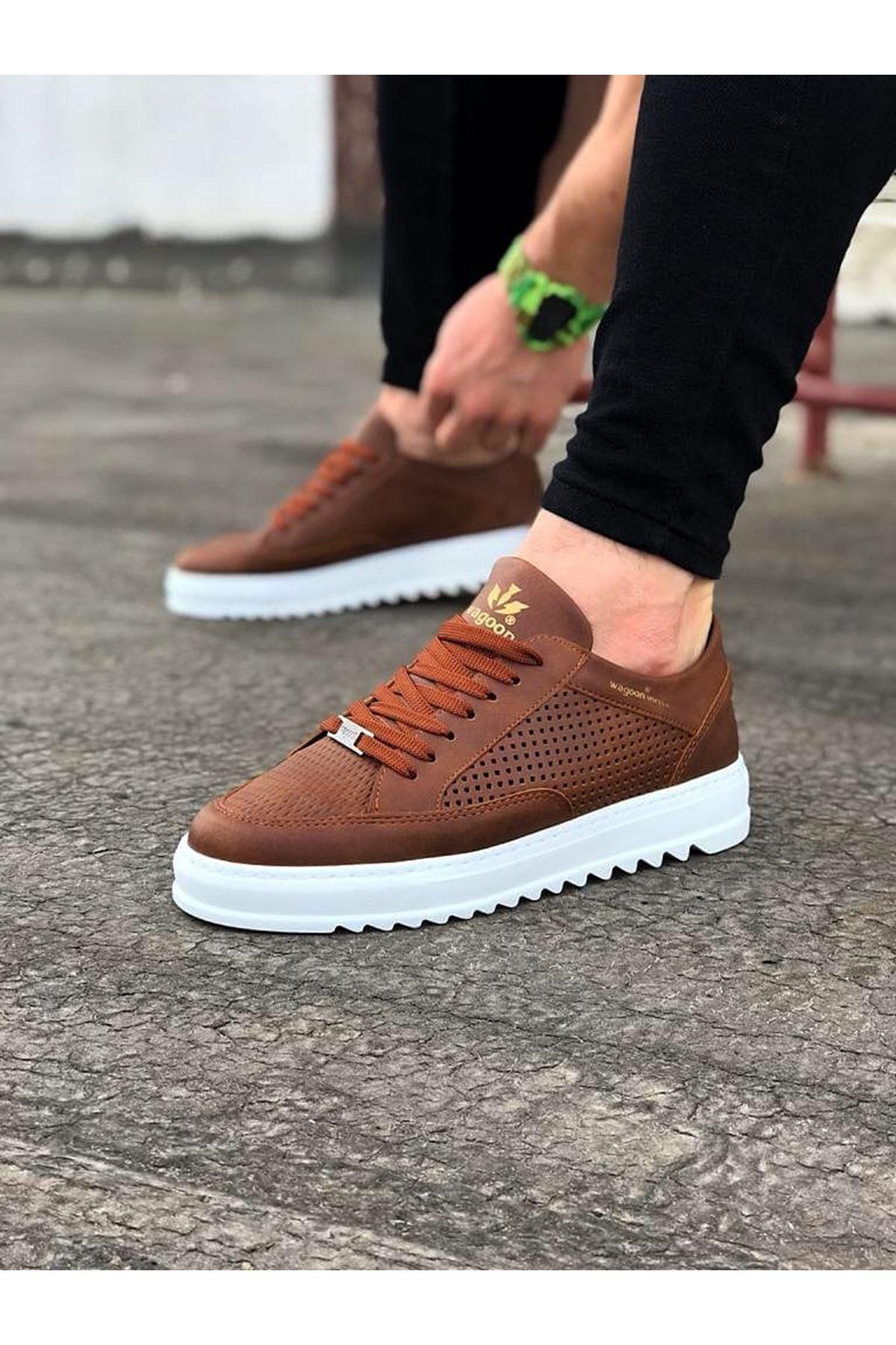 Wagoon WG505 Taba Erkek Günlük Ayakkabı