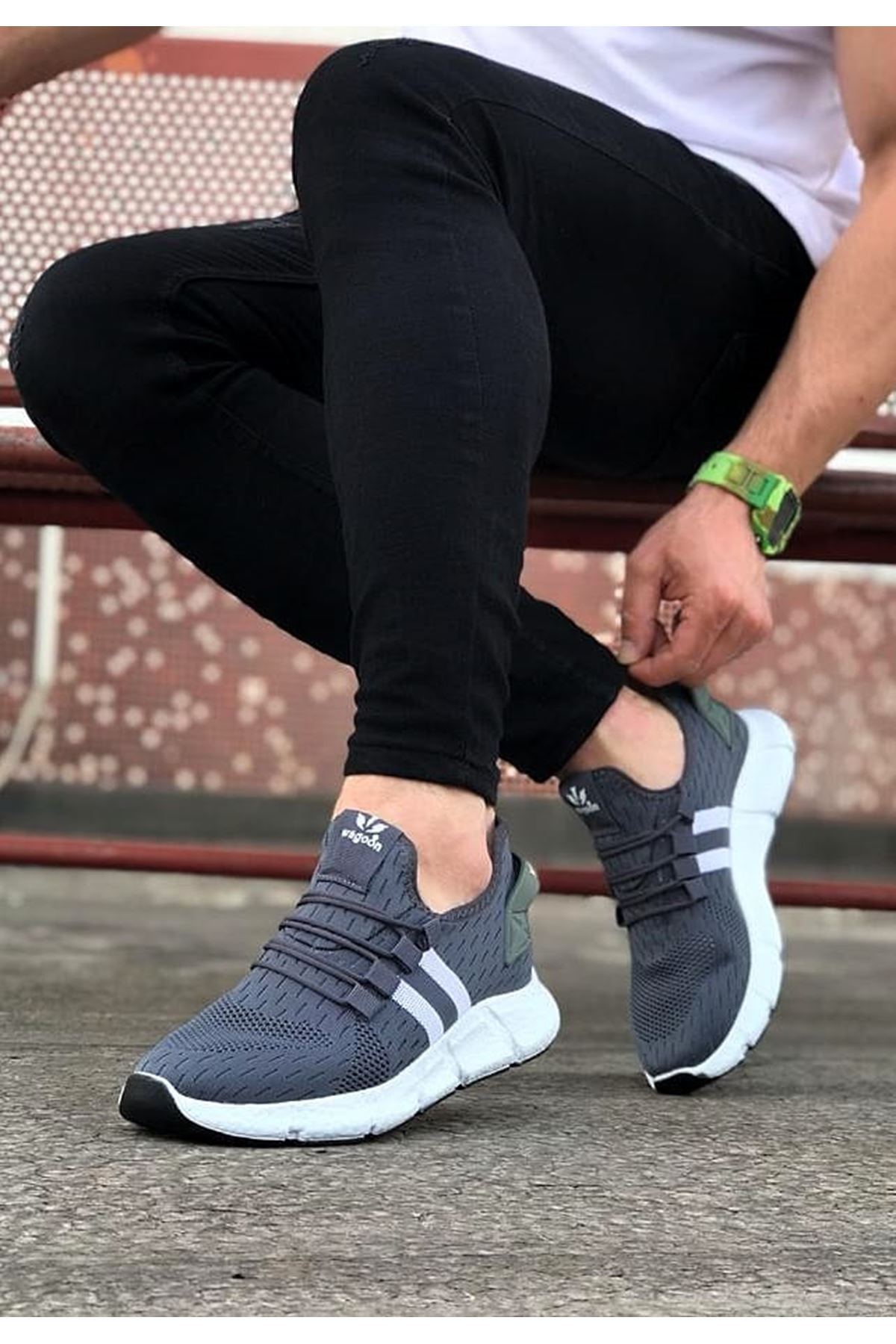 Wagoon WG102 Füme Erkek Spor Ayakkabı