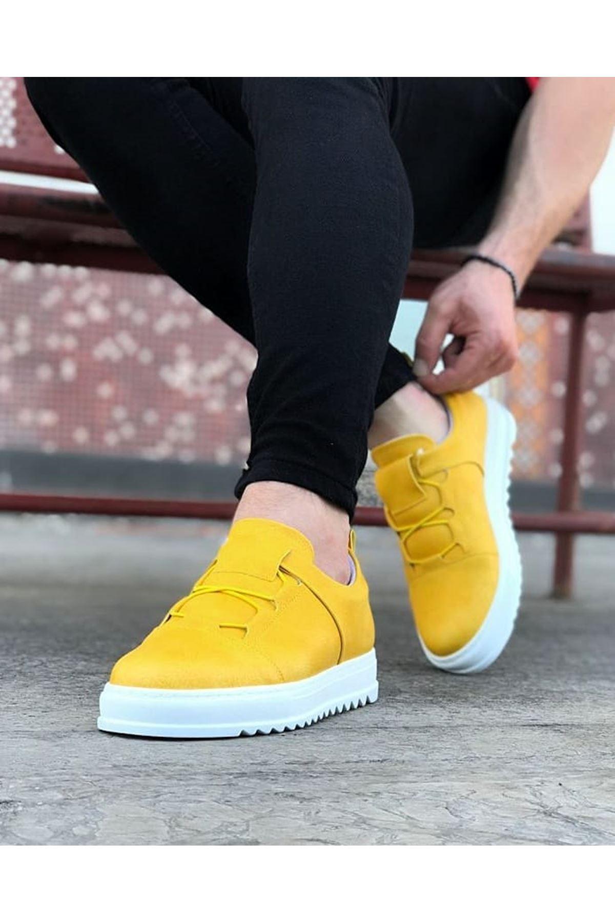 Wagoon WG036 Sarı Erkek Casual Ayakkabı