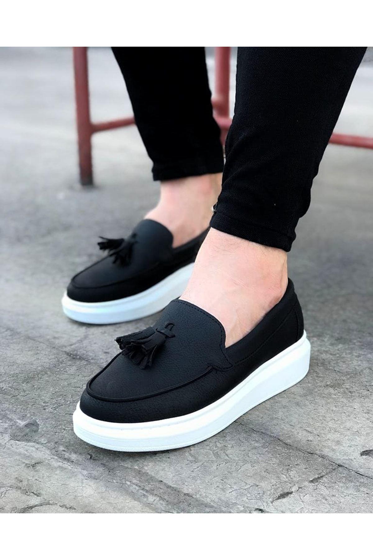 Wagoon WG154 Siyah Erkek Günlük Ayakkabı
