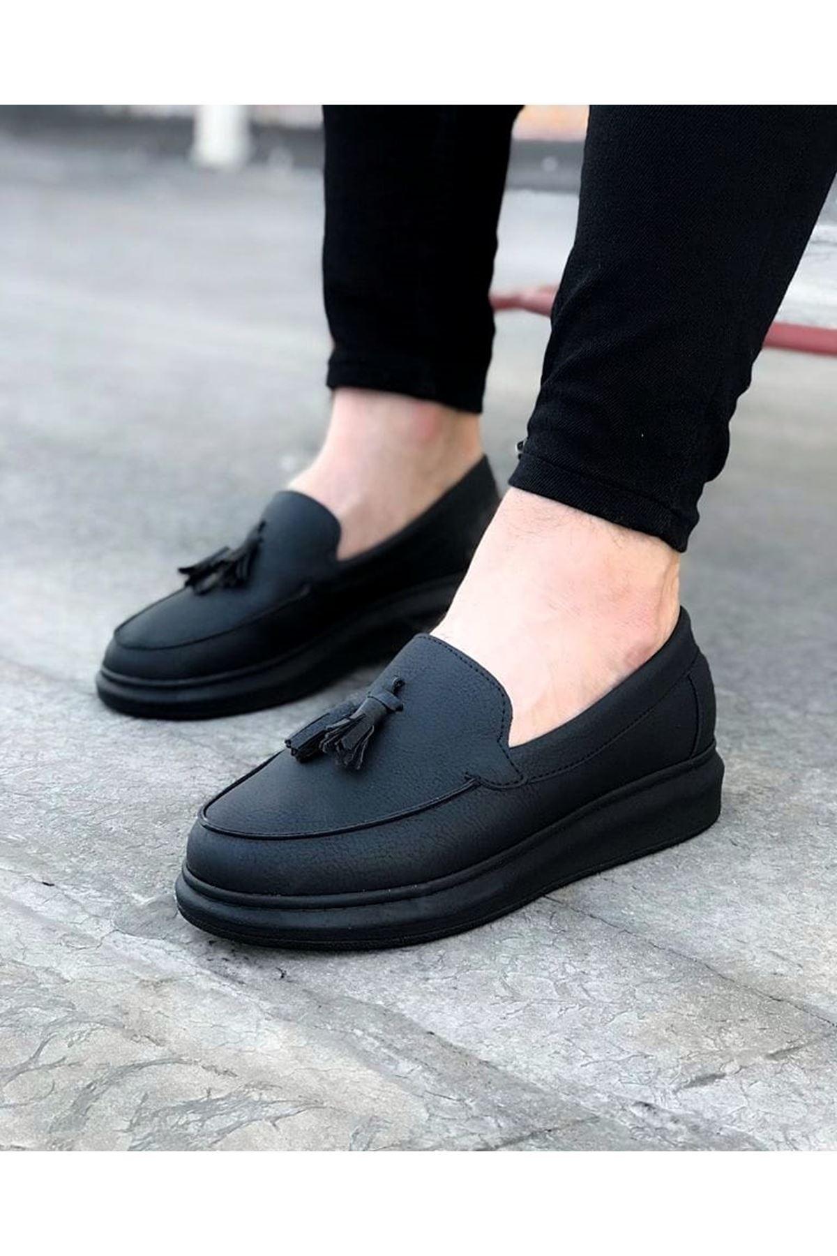 Wagoon WG154 Kömür Erkek Günlük Ayakkabı
