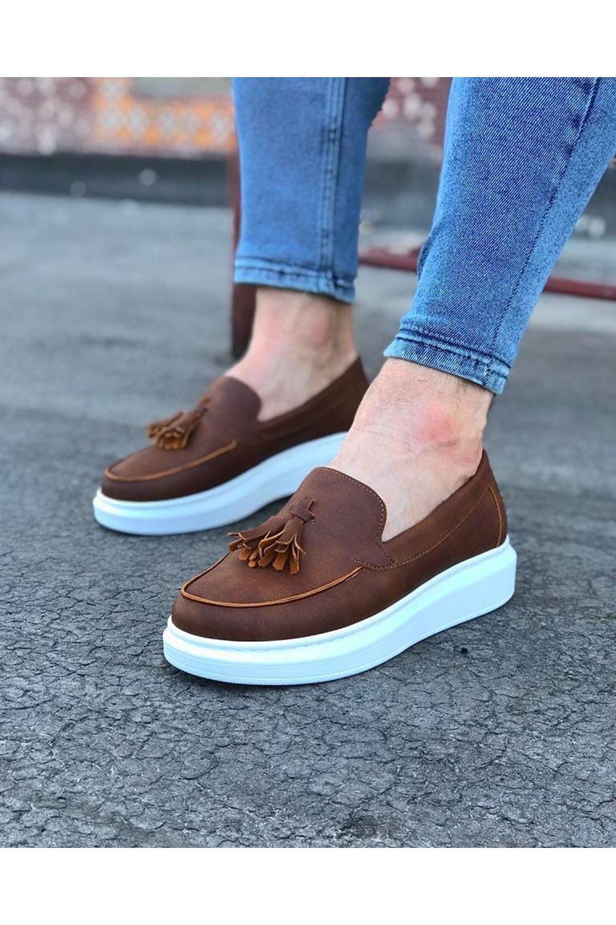 Wagoon WG154 Taba Erkek Günlük Ayakkabı