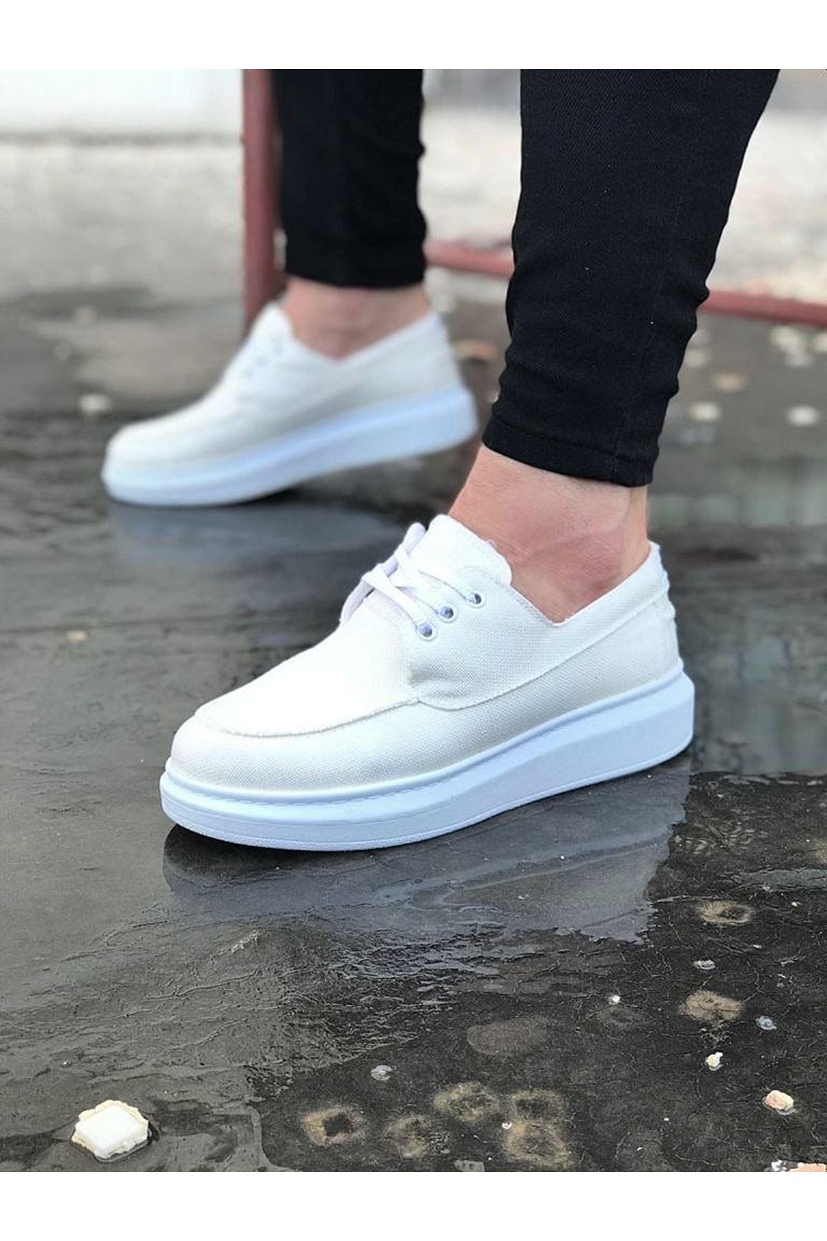Wagoon WG503 Beyaz Erkek Günlük Ayakkabı