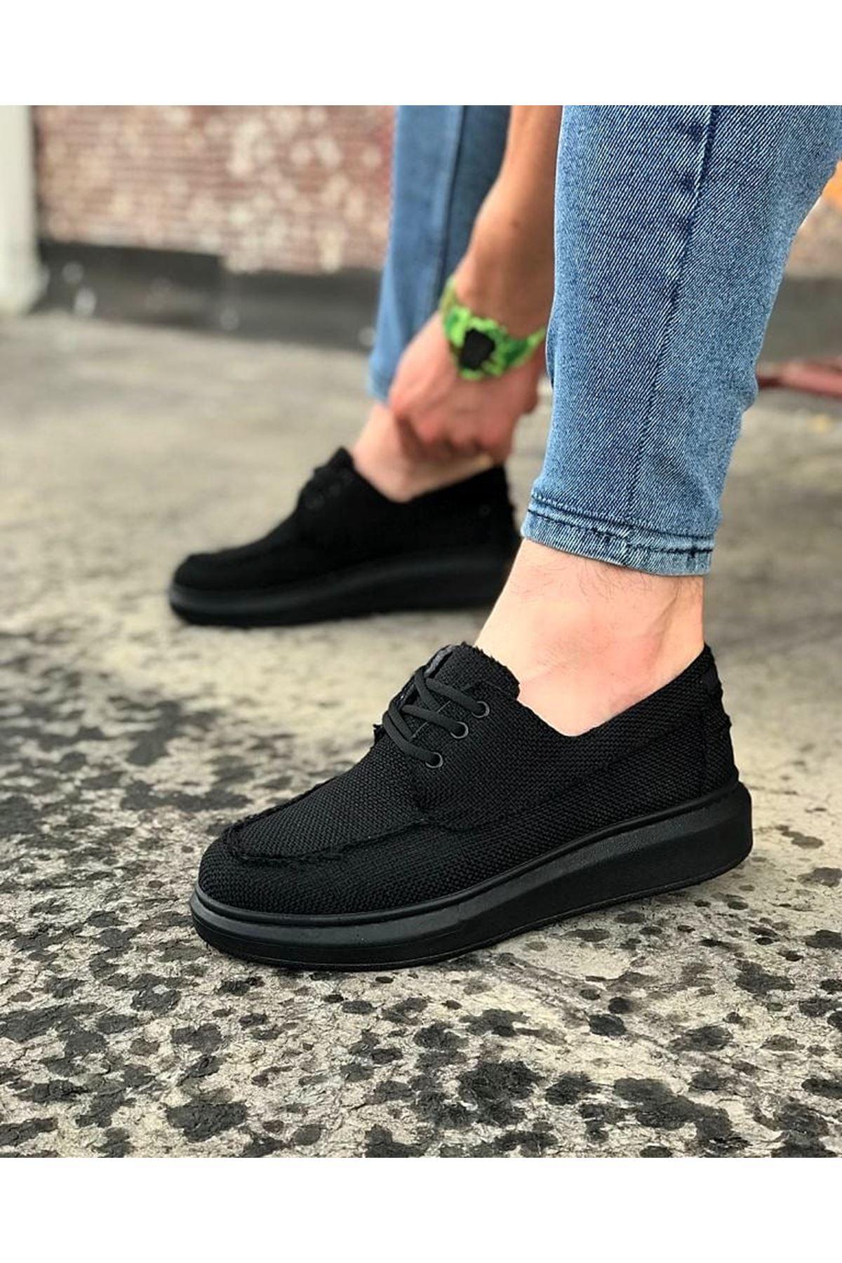 Wagoon WG503 Kömür Erkek Günlük Ayakkabı