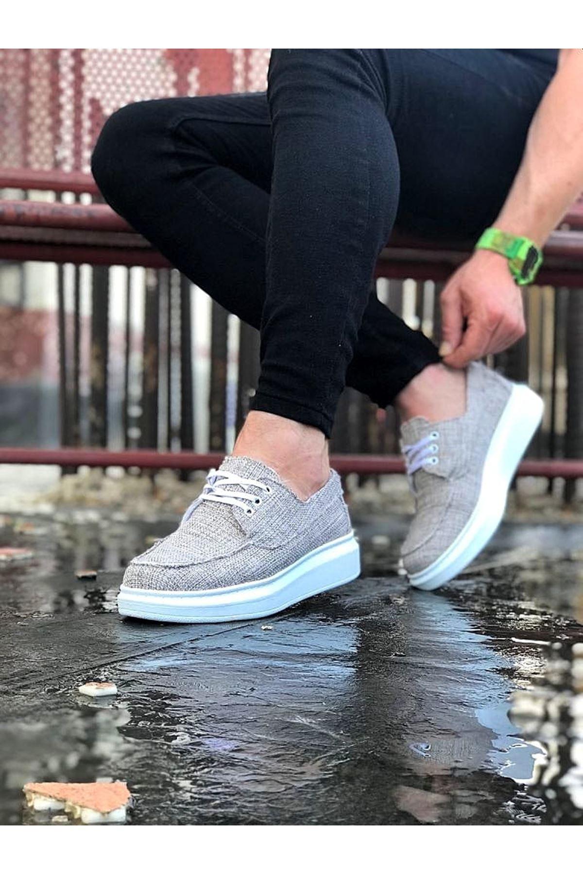 Wagoon WG503 Bej Erkek Günlük Ayakkabı