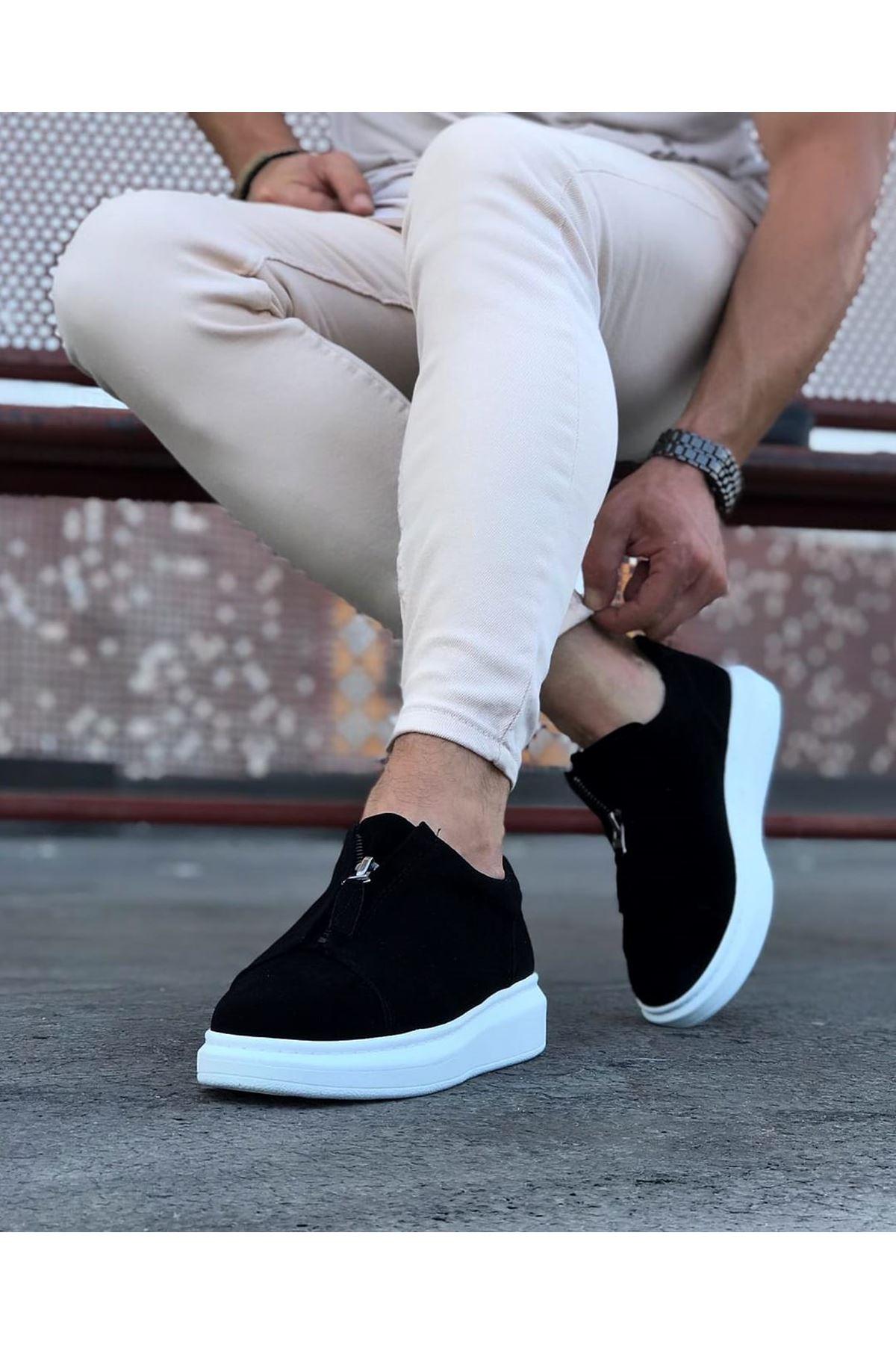 Wagoon WG010 Siyah Süet Erkek Casual Ayakkabı
