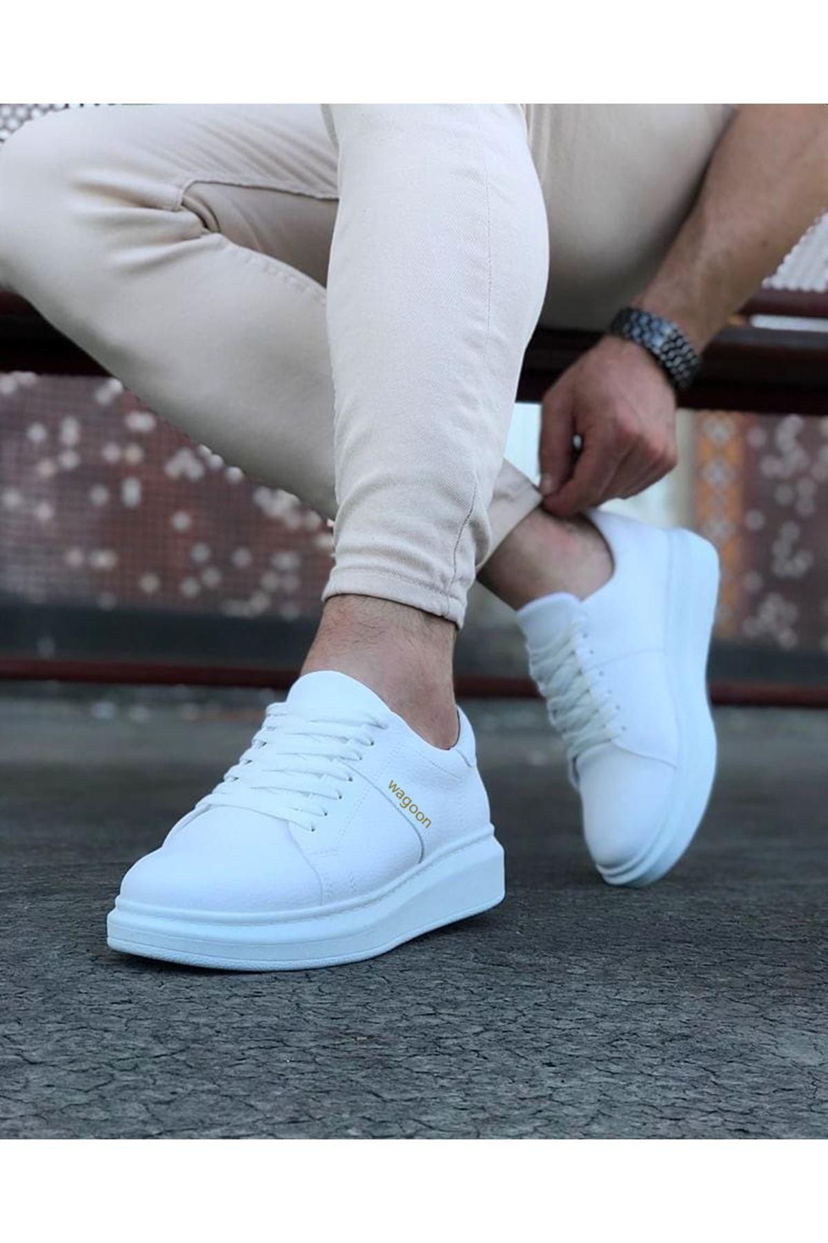 Wagoon WG151 Beyaz Erkek Günlük Ayakkabı