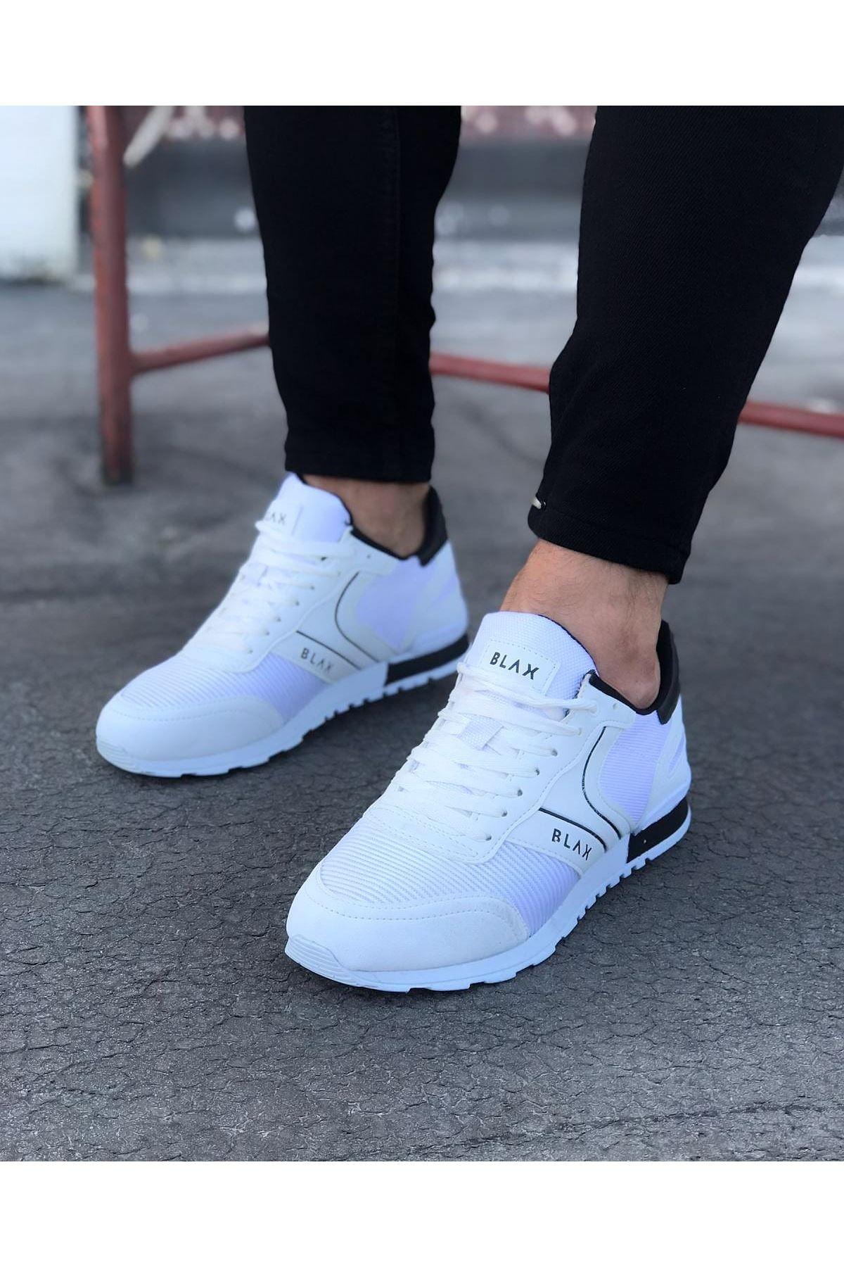 Wagoon WG014 Beyaz Erkek Spor Ayakkabı