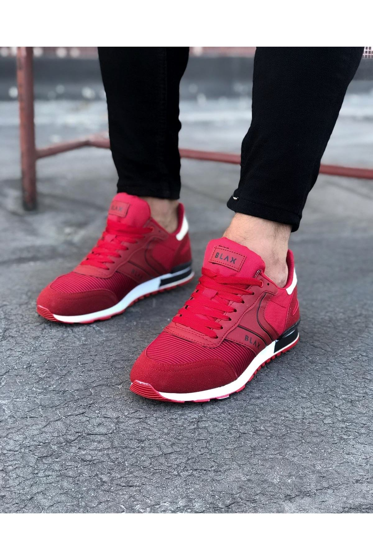 Wagoon WG014 Kırmızı Erkek Spor Ayakkabı
