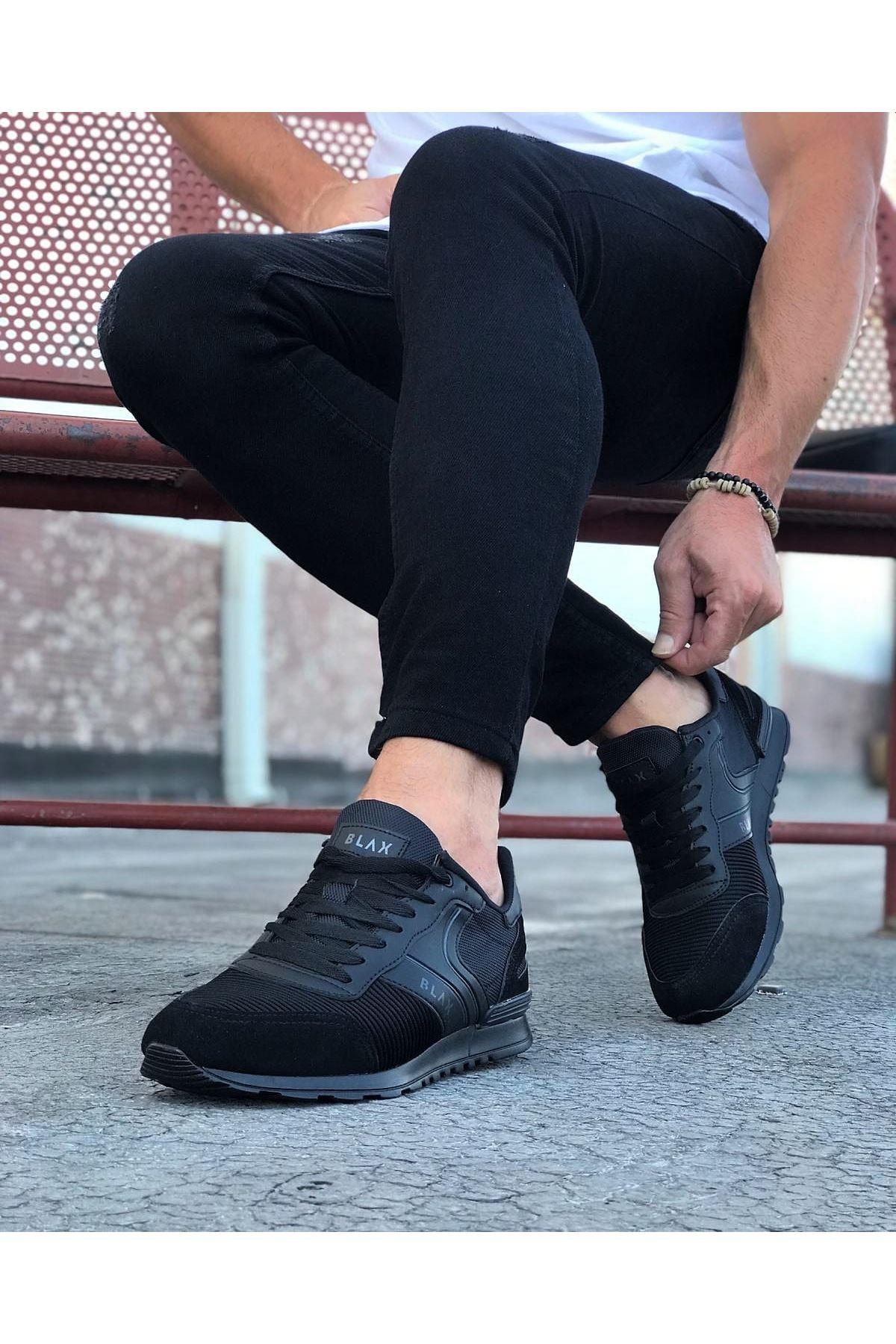 Wagoon WG014 Kömür Erkek Spor Ayakkabı