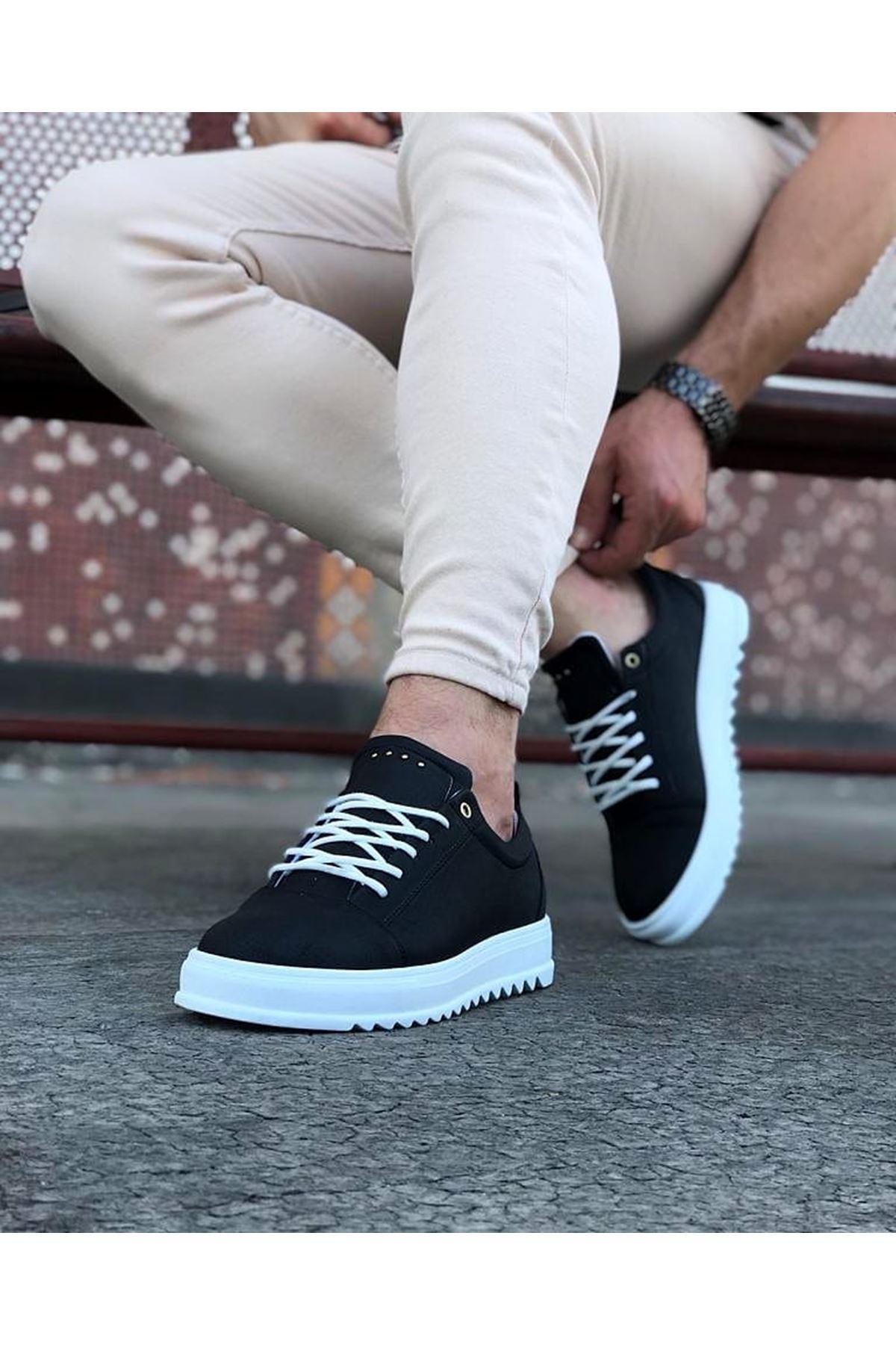 Wagoon WG152 Siyah Erkek Günlük Ayakkabı