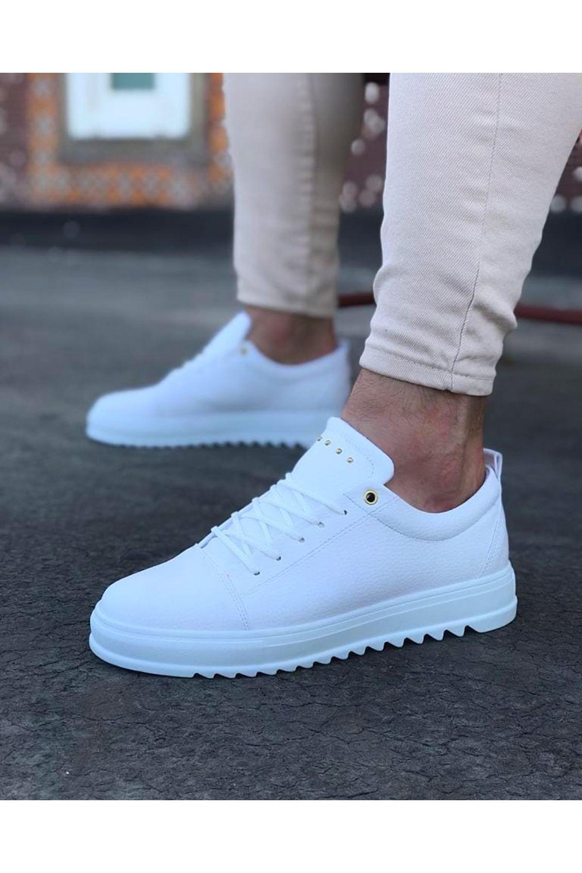 Wagoon WG152 Beyaz Erkek Günlük Ayakkabı