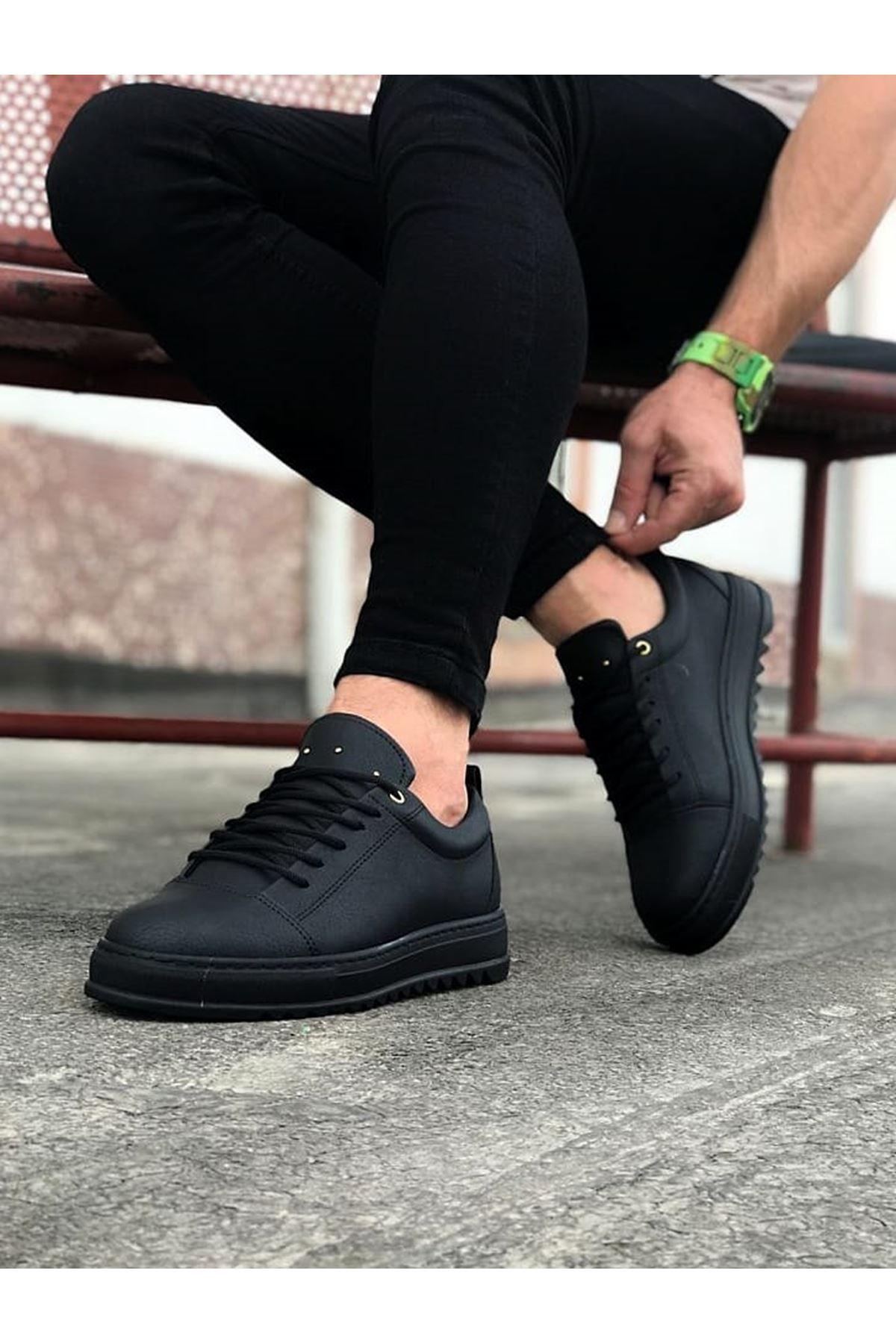 Wagoon WG152 Kömür Erkek Günlük Ayakkabı