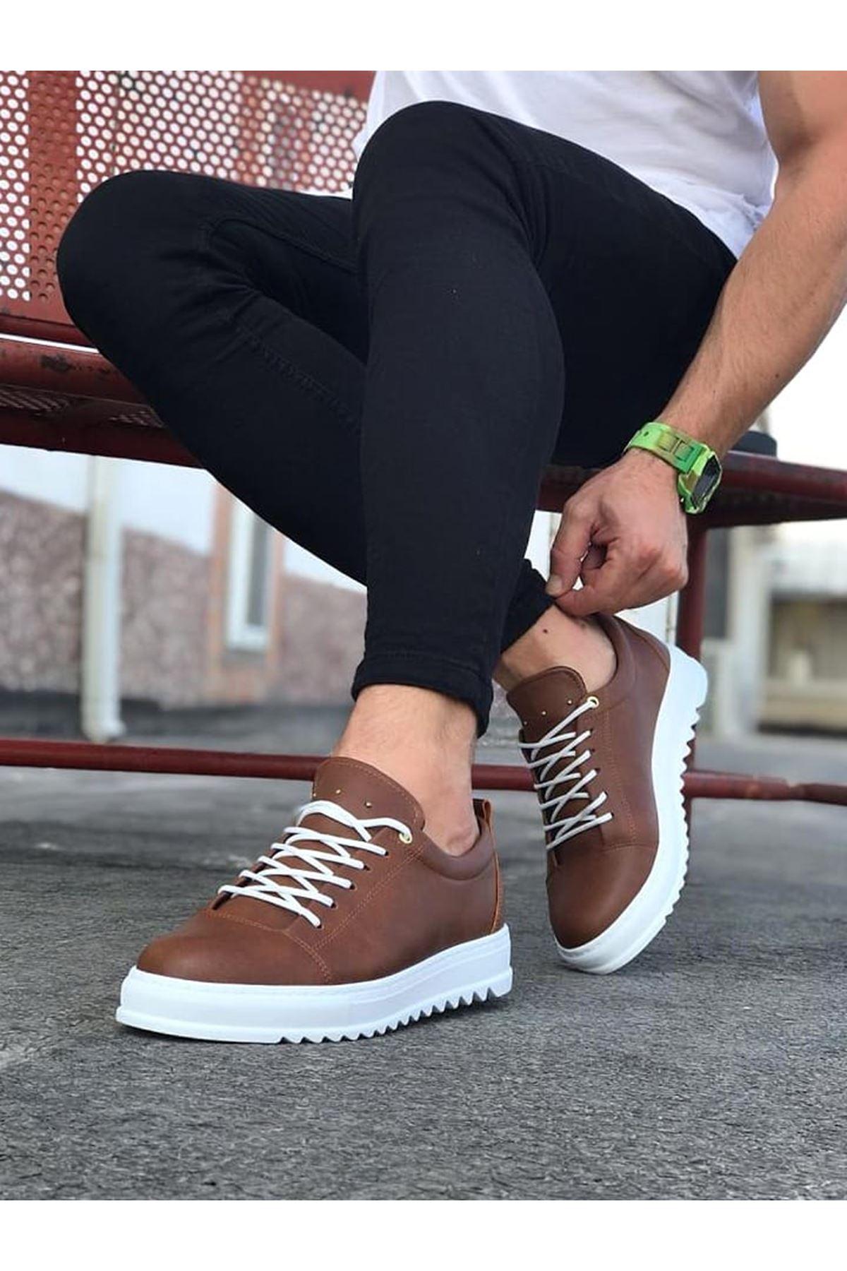 Wagoon WG152 Taba Erkek Günlük Ayakkabı