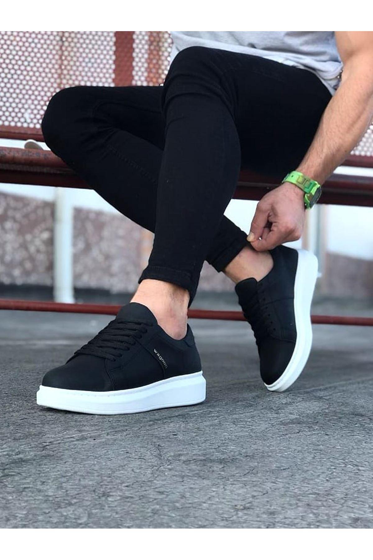 Wagoon WG151 Siyah Erkek Günlük Ayakkabı