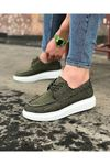 Wagoon WG503 Haki Erkek Günlük Ayakkabı
